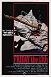 FRIDAY THE 13TH – Imported Movie Wall Poster Print – 30CM X 43CM Brand New JASON VOORHEES