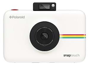 Polaroid Appareil-photo numérique à impression instantanée Snap Touch avec écran LCD (blanc) et technologie d'impression sans encre Zink