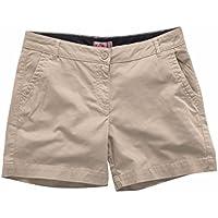 Gill Womens Crew Shorts - Khaki 10