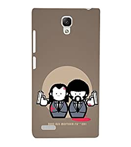 EPICCASE Bad Ass Mobile Back Case Cover For Xiaomi Redmi Note (Designer Case)