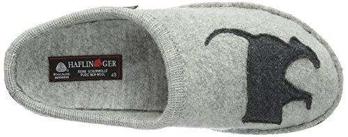 Haflinger - Dackel, Chaussons Maison, Unisexe Gris (grau / Steingrau)