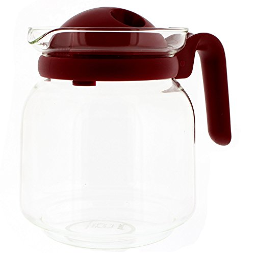 Codiac 340.101 reemplazo jarra de cristal versátil, vidrio
