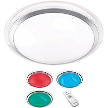 Lampadario LED RL133 Reality Trio design moderno cambia colore vetro acrilico ~ (Oggi Acrilico)