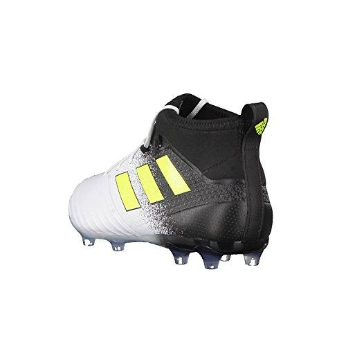 adidas Herren Ace 17.2 Fg Fußballschuhe Gelb (Footwear White/Solar Yellow/Core Black)