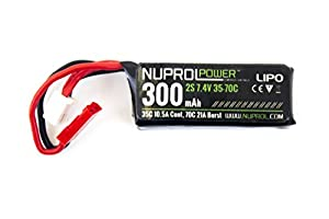 Batterie lipo 7.4 v / 300 mah 35 c special hpa np