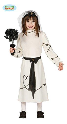 Franky´s Braut Kinder Kostüm Gr. 98-134, Größe:128/134