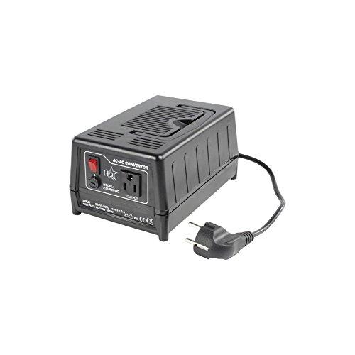 Spannungswandler 220 Volt AUF 110 Volt 2,7 A - 300 Watt Konverter ideal für Geräte aus den USA zur Verwendung in der EU -