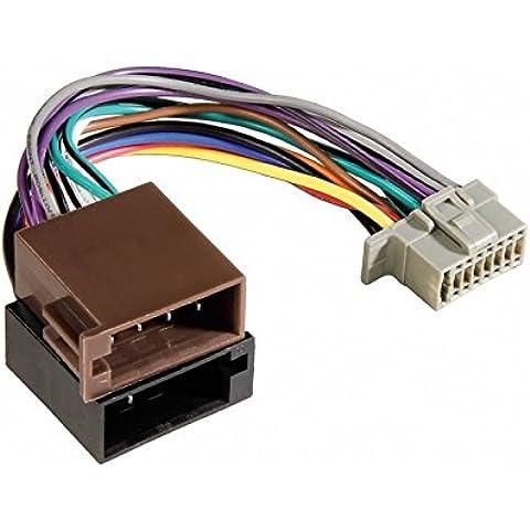 Sun-Cavo adattatore per autoradio ALPINE fascio ISO 16 pin