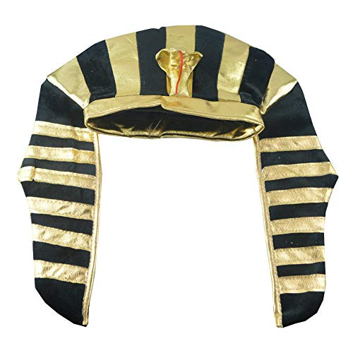 Asien 1pc ägyptischen Pharao Kostüme Hüte Kronenkorke Halloween-Party Erwachsene Kinder Kinder Hüte Kopfbedeckung Männer-Fantasie-Kostüm (Ägyptischen Kostüm Junge)