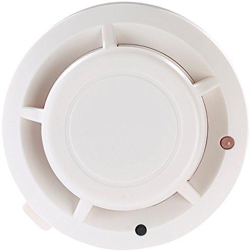 VisorTech Zubehör zu Kabellose Alarmanlage: Funk-Rauchsensor für Alarmanlage XMD-4400.Pro und...