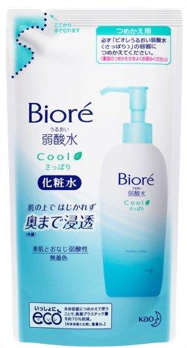 Biore Skin Cream Weak Acidity 180ml - Refresh - RefilliGreen Tea Set)
