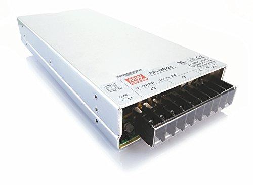 Meanwell fuente de alimentación, SP-480-24, tensión constante, 110-240 V, AC/50-60 hz, 24 V, DC, 0-22 A, 480 W 872796