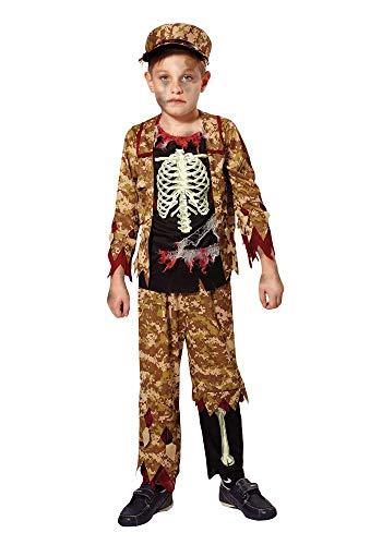 Mr.Giggelz Kinderkostüm - Zombie Soldat Größe S