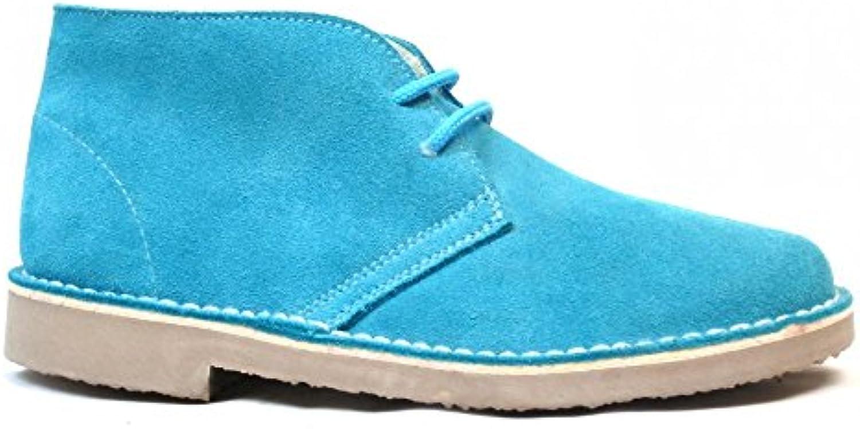 Botas Safari Turquesa Borreguito  Zapatos de moda en línea Obtenga el mejor descuento de venta caliente-Descuento más grande