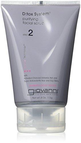 Giovanni Cosmetics, INC. Giovanni Système Detox, DE GOMMAGE 113,4 gram –-2 par Coque.
