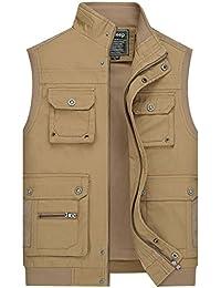 Men Hunting Fishing Body Winter Warmer Waistcoat Safari Gilet Tobias Coat Jacket