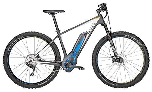 Bulls Black Adder Team E-Mountainbike - Herren E-Bike 29 Zoll - CX Mittelmotor, Akku 500Wh, Deore XT Shadow Plus Schaltung, Carbon Rahmen