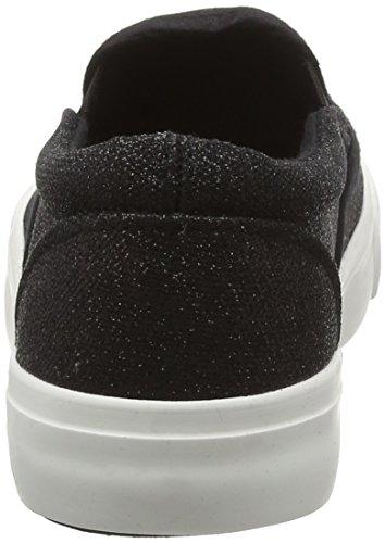 New Look Mädchen Macho Glitter Sneaker Black (Black/01)