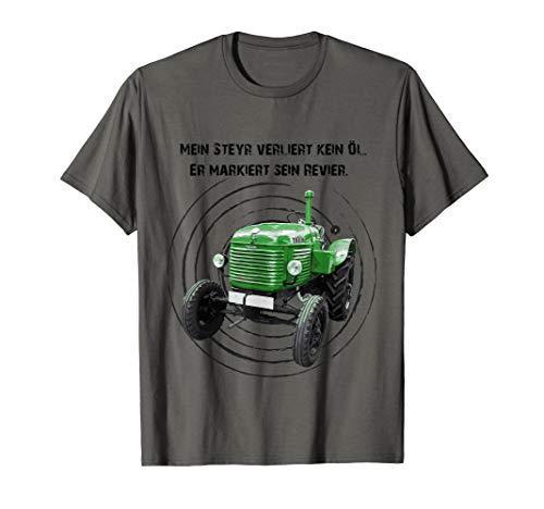 Steyr Oldtimer Traktor Fan T-Shirt