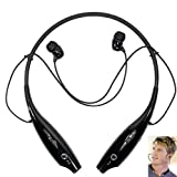 GO OFFER Wireless Bluetooth Earphone/Headphone for Samsung Galaxy J7 & Prime with Noise