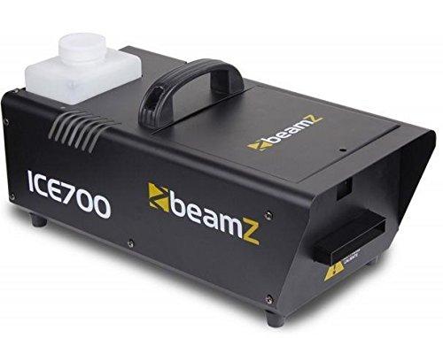 beamZ ICE700 Máquina de niebla/hielo (700W, tanque de 1200ml, cable con mando a distancia) - negro
