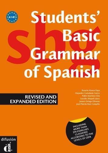 Gramática básica del estudiante de español, versión inglés (Ele - Texto Español)