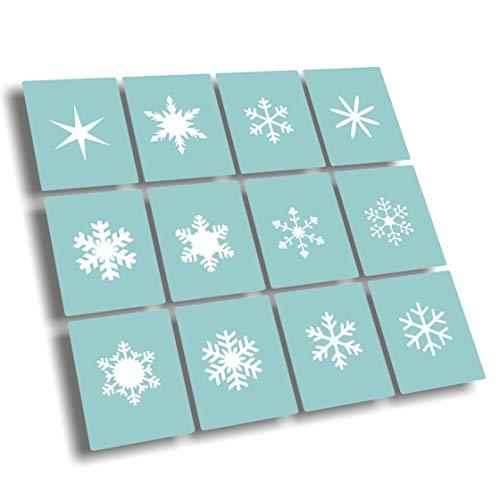 288 Airbrush Schablonen für Nailart - Nail Art Schablone selbstklebend für Nägel