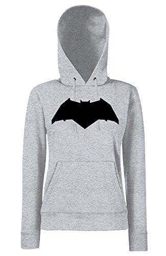 TRVPPY - Sweat Pull à capuche, modèle New Batman - Femme, différentes tailles et couleurs Gris