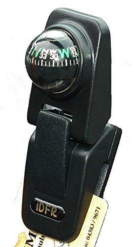 Boussole avec notizhalter en plastique (noir)