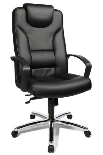 Topstar 7819D60 Chefsessel Comfort Point 50, Bezugsstoff Kunstleder schwarz - Platt Teppich