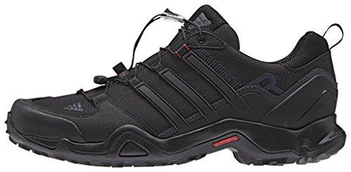 adidas Terrex Swift R, Chaussures de Randonnée Homme, Noir Noir - Negro (Negro (Negbas / Rojpot / Griosc))