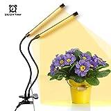 Anten 20W LED Pflanzenlampe mit Timer-Funktion, Pflanzenlicht Vollspektrum, 6...