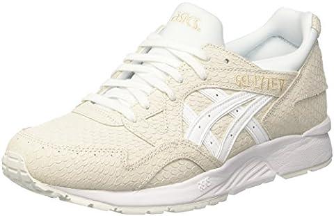 Asics Gel-Lyte V, Chaussures de Tennis Femme, Blanc Cassé (Bianco), 37 EU