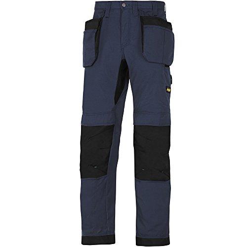 Snickers Workwear lavoro lite, 37,5 pantaloni da lavoro con caso Holster, 1 pcs, 48, marina, 62079504048