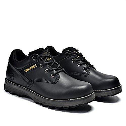 Uomo Oxfords Primavera Estate Autunno Inverno Comfort Nappa In Pelle Outdoor Athletic Casual Nero Giallo Taupe Sneaker Black