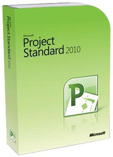 Microsoft Project Standard 2010 - 1PC/1User (Microsoft Project 2010 Software)
