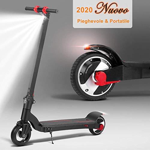 monopattino pieghevole scooter elettrico i-bike da città pieghevole, velocità massima 20km/h, autonomia 15km scooter elettrico unisex adulti e bambini