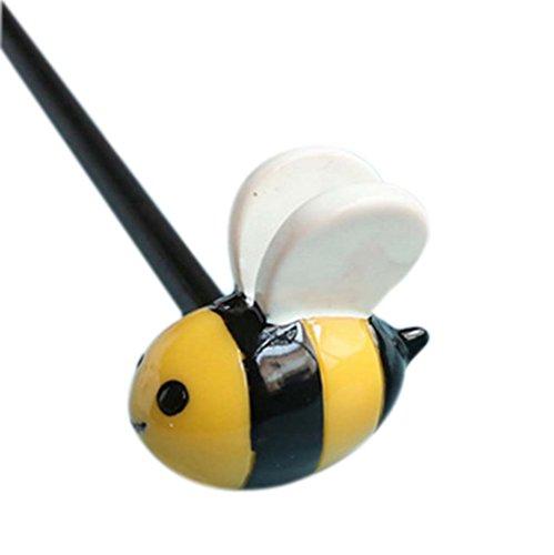 2 morceaux de Cartoon Bricolage Bois Accessoires cheveux, abeille