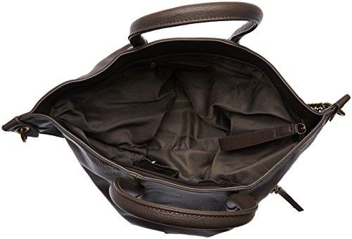 Le Temps Des Cerises Bonnie 1, Sac porté épaule - Noir Noir (Kaki 2503)