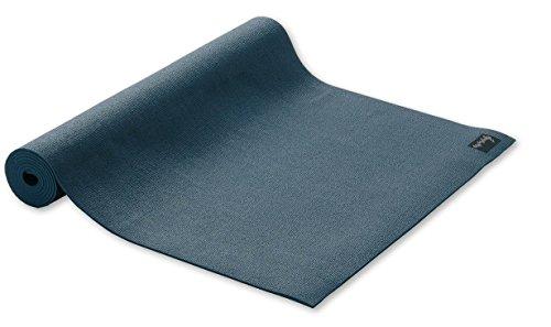 Yogamatte STUDIO extraleicht Gymnastikmatte Pilates Matte blau 60cmX183cmX3mm