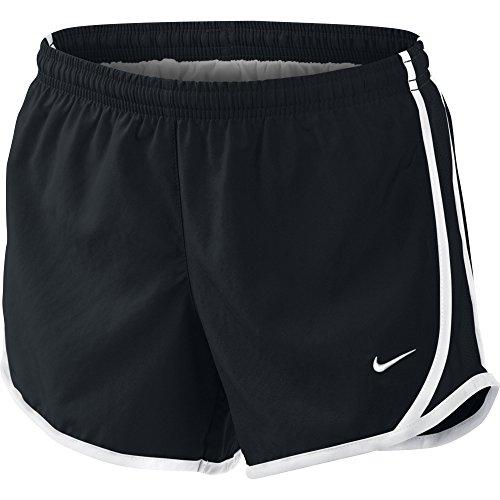 Nike Beinkleid Tempo Shorts Girls schwarz/Weiß, XL-158/170