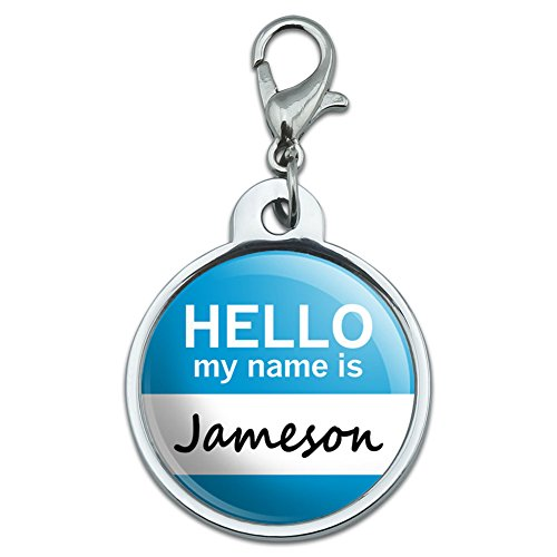 chrome-plated-metal-small-pet-id-dog-cat-tag-hello-my-name-is-is-ja-jameson
