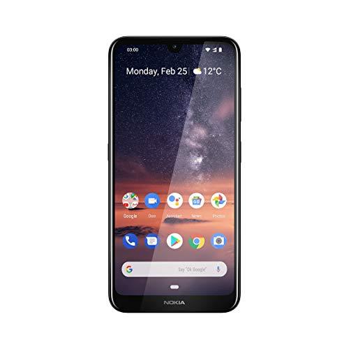 Nokia 3.2 Dual SIM Smartphone - Deutsche Ware (15,9 cm (6.26 Zoll), 13 MP Hauptkamera, 3GB RAM, 32 GB interner Speicher, Android 9 Pie) Black
