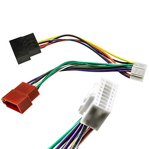 Alpine DIN ISO Auto Radio Adapter Kabel Stecker CDA CDE RM R RB E RI CDM Flex Alpine-adapter