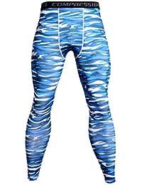 ITISME Homme Pantalons de Compression pour Hommes Collants de Sport  Leggings Collants de Sport Legging de 1abd0fe0f83
