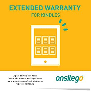 Onsitego 1 Year Extended Warranty for All Kindle (Email Delivery - No Physical Kit)