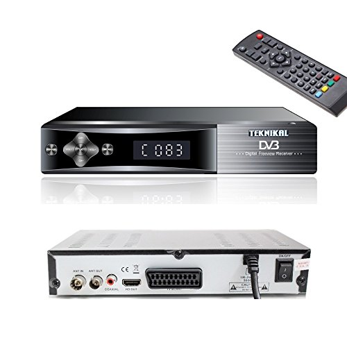 Freeview Tuner and Recorder Set Top Box / Digital TV Receiver / Digi Box for Switchover DVB-T Scart Adapter Digi-fun® Test