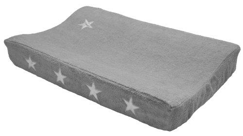 Taftan VK-210 - con las estrellas de revestimiento de plata para el cambio de alfombra, 72 x 44 cm, color: gris
