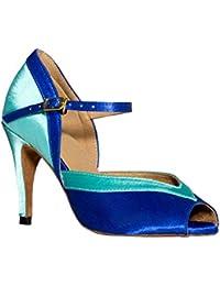 Minitoo - Femme Vivant, Bleu, Taille 41