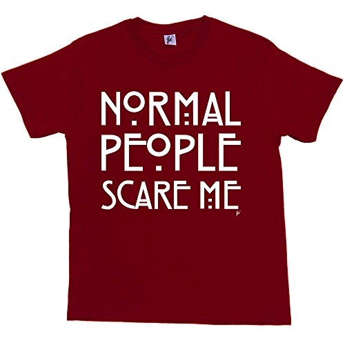 Fancy A Snuggle Normal People Scare Me American Horror Story Mens T-Shirt